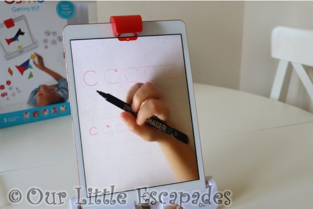 osmo letter formations masterpiece app