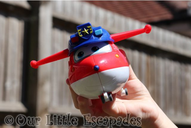 police jett super wings transforming vehicle