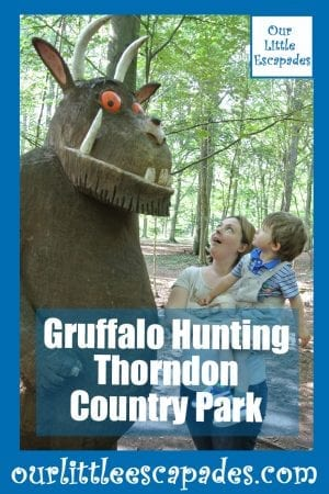 Gruffalo Hunting Thorndon Country Park
