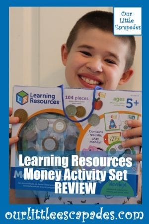 Learning Resources Money Activity Set REVIEW