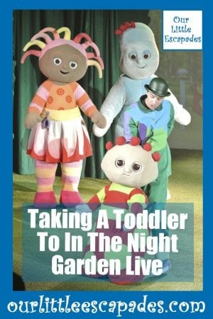 Taking A Toddler To In The Night Garden Live