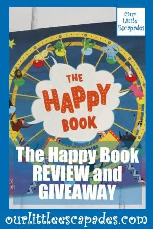 The Happy Book REVIEW and GIVEAWAY
