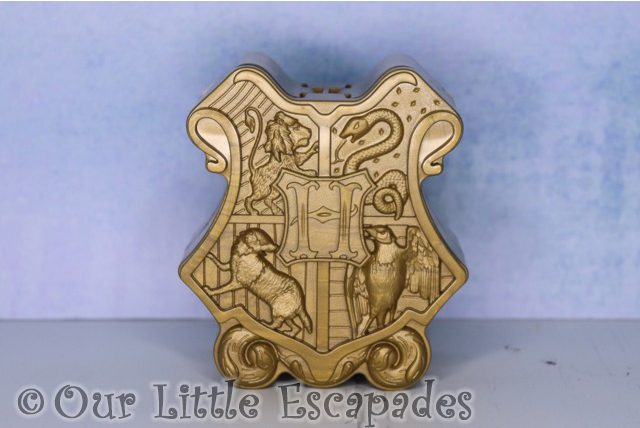 bronze hogwarts crest harry potter magical capsules