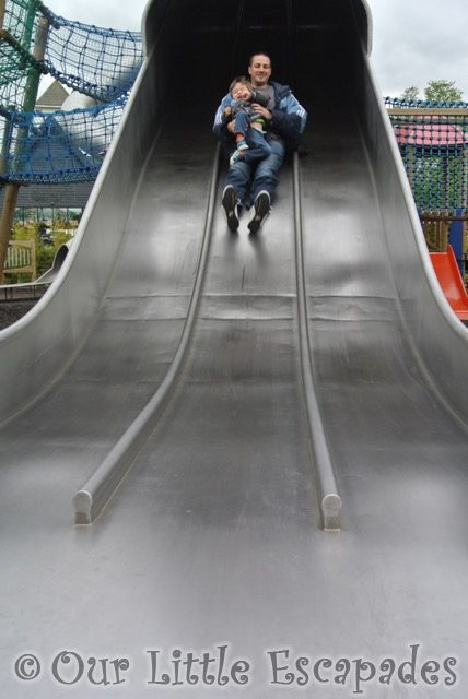 darren ethan top big slide colchester zoo ethans first colchester zoo gold pass