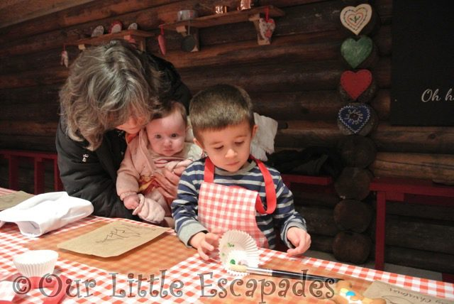 ethan little e grandma sitting kitchen table lapland uk superstar day