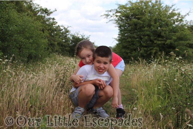 ethan little e martins farm country park siblings june 2020