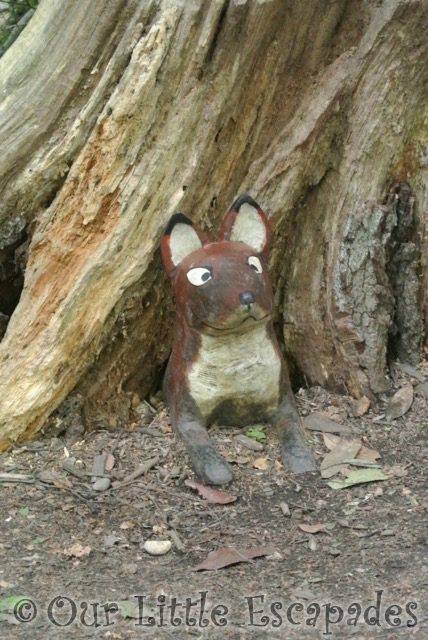 fox gruffalo hunting thorndon country park