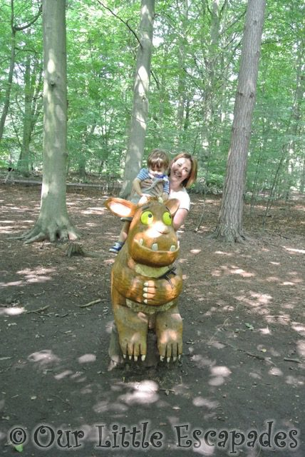 jane ethan gruffalos child gruffalo hunting thorndon country park