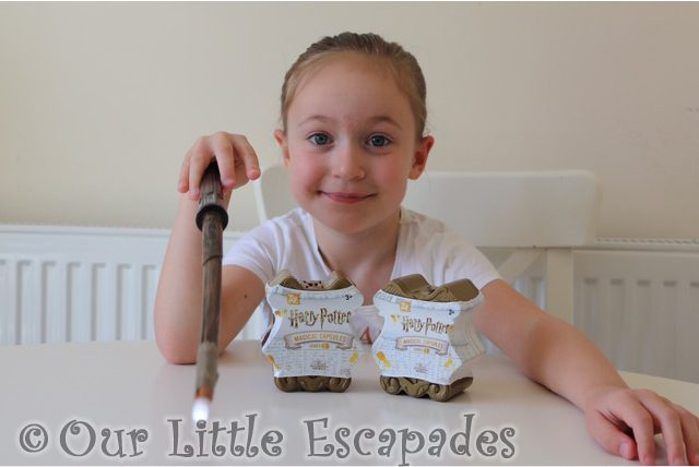 little e magic wand two harry potter magical capsules