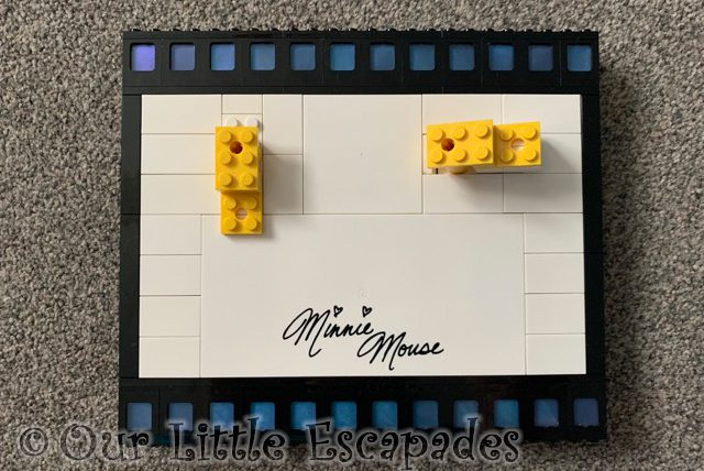 minnie mouse film strip base lego disney mickey mouse minnie mouse