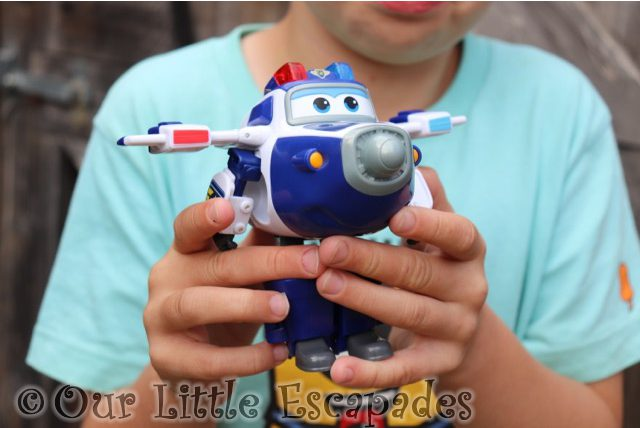 paul ethan super wings transforming vehicles