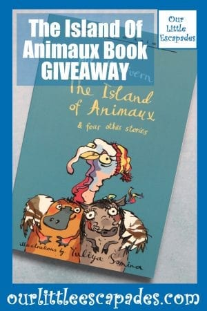 The Island Of Animaux Book GIVEAWAY