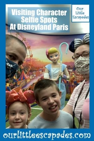 Visiting Character Selfie Spots At Disneyland Paris