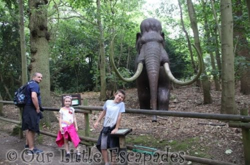 darren ethan little e woolly mammoth neanderthal walk roarr dinosaur adventure