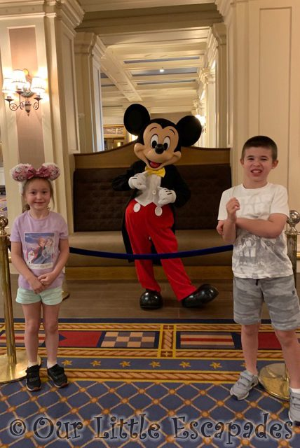 ethan little e mickey mouse disneys newport bay club character selfie spots disneyland paris
