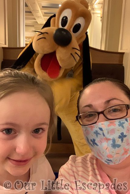 jane little e pluto disneys newport bay club character selfie spots disneyland paris