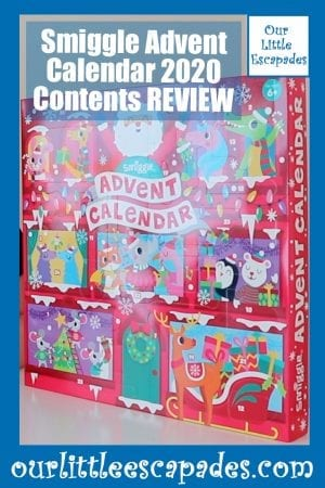 Smiggle Advent Calendar 2020 Contents REVIEW
