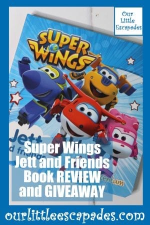 Super Wings Jett and Friends Book REVIEW and GIVEAWAY