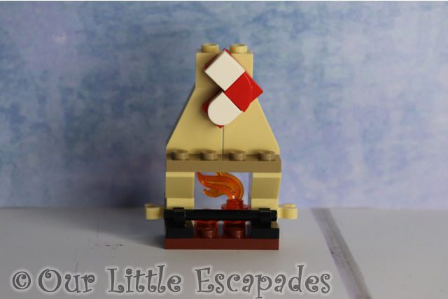 gryffindor fireplace lego harry potter advent calendar 2020