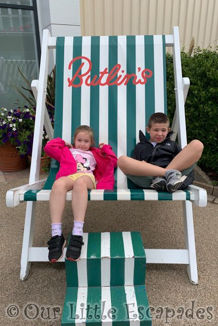 little e ethan butlins deck chair august 2020