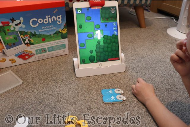 little e making awbie move learn coding with osmo review