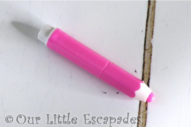 pencil shaped pink highlighter smiggle advent calendar 2020 contents