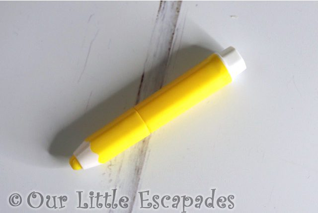 pencil shaped yellow highlighter smiggle advent calendar 2020 contents