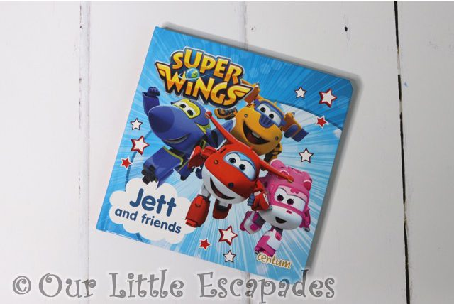 super wings jett and friends book