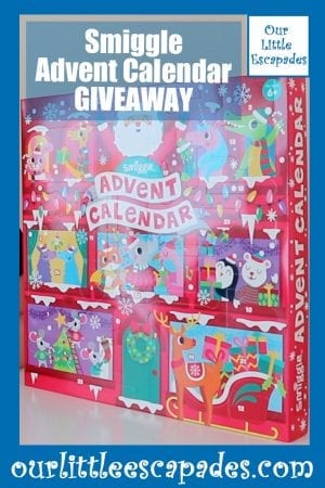 Smiggle Advent Calendar giveaway