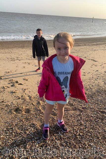 little e ethan holland on sea seafront siblings september 2020