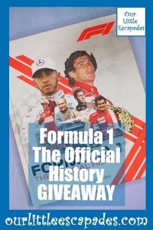 Formula 1 The Official History GIVEAWAY