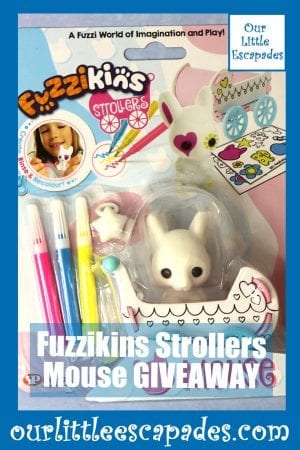 Fuzzikins Strollers Mouse GIVEAWAY