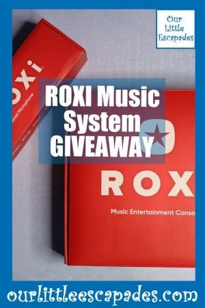 ROXI Music System GIVEAWAY