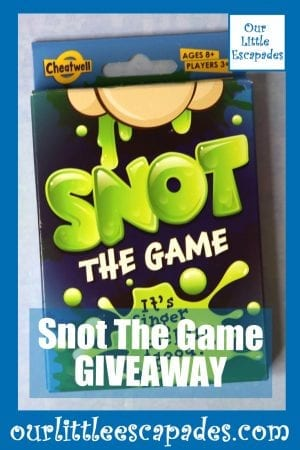 Snot The Game GIVEAWAY