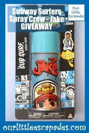 Subway Surfers Spray Crew Jake GIVEAWAY