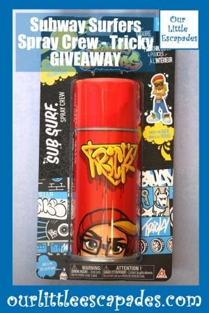 Subway Surfers Spray Crew Tricky GIVEAWAY