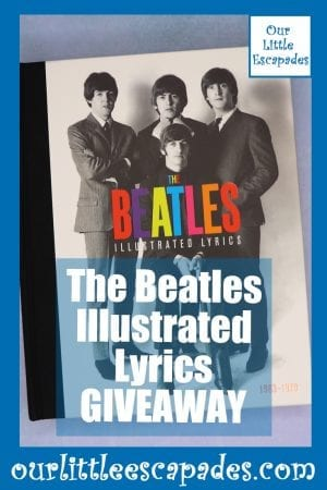 The Beatles Illustrated Lyrics GIVEAWAY