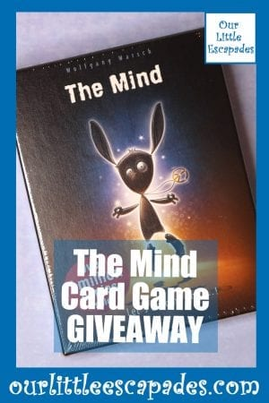 The Mind Card Game GIVEAWAY