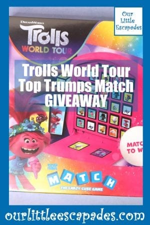 Trolls 2 World Tour Top Trumps Match GIVEAWAY