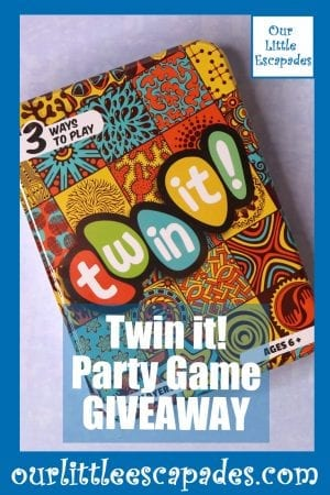 Twin it Party Game GIVEAWAY