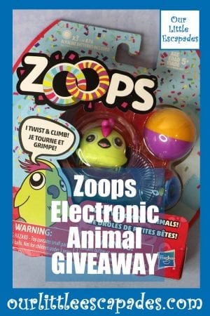 Zoops Electronic Animal GIVEAWAY