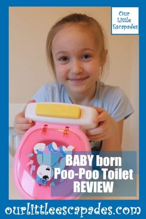 BABY born Poo Poo Toilet REVIEW