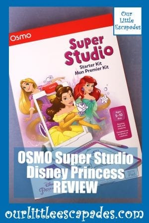 OSMO Super Studio Disney Princess REVIEW