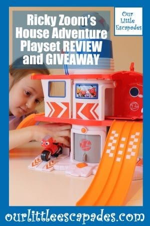Ricky Zooms House Adventure Playset REVIEW and GIVEAWAY