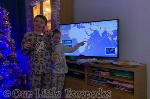 ethan little e wheres santa map preparing for santas visit