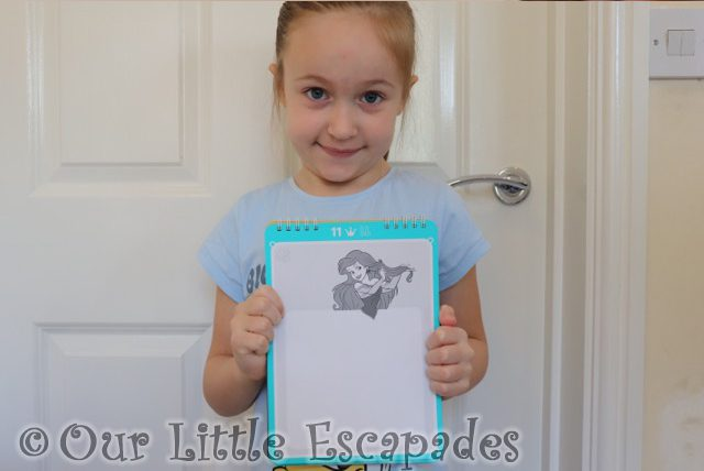 little e little mermaid page super sketchpad osmo super studio disney princess