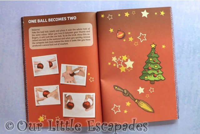 one ball becomes two trick instructions instruction book magic advent calendar