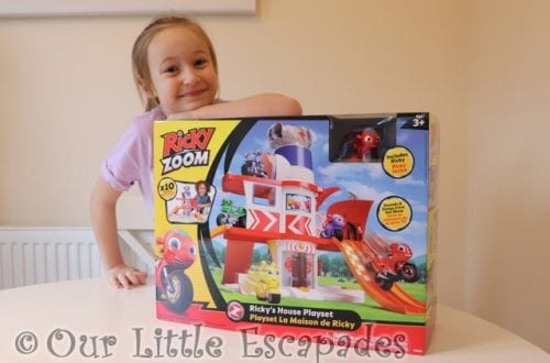 ricky zooms house adventure playset boxed