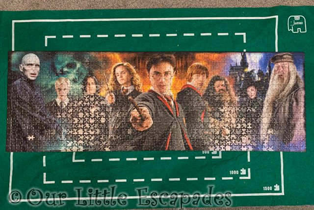 complete harry potter clementoni panorama puzzle