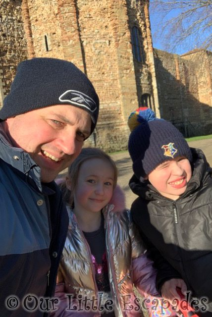 darren ethan little e selfie colchester castle 2021 Week 3